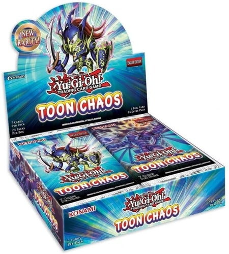 Toon Chaos Best Yugioh Booster Box
