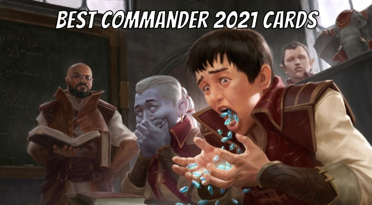 Top 10 Best Commander 2021 Cards Strixhaven Banner