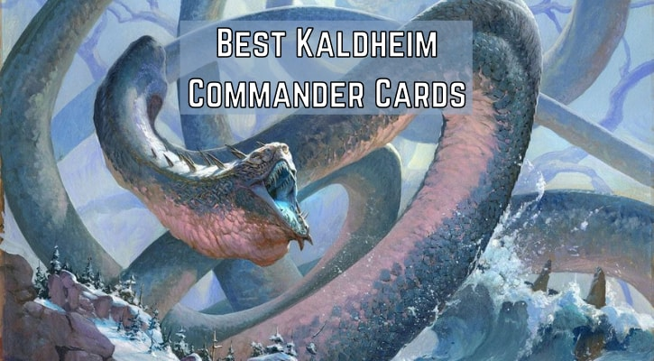 Top 10 Best Kaldheim Commander Cards Banner