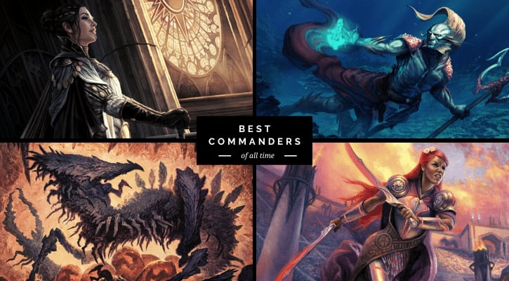 Top 10 Best MTG Commanders of All Time Banner