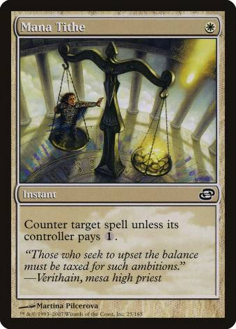 Top 10 Best MTG Counterspells Mana Tithe White