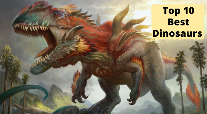 Top 10 Best MTG Dinosaurs Banner