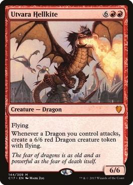 Top 10 Best MTG Dragons Utvara Hellkite