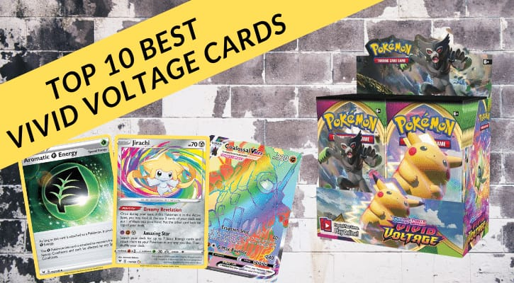 Top 10 Best Vivid Voltage Cards Pokemon TCG Banner