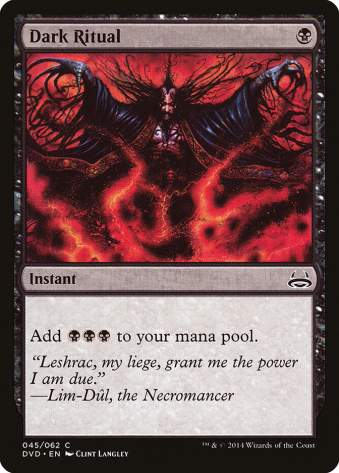 Top 10 Cheap Powerful Magic the Gathering Card Dark Ritual