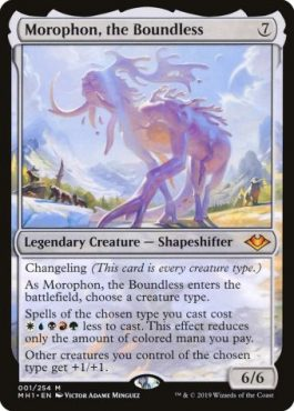 Top 10 Fun Commanders Morophon the Boundless