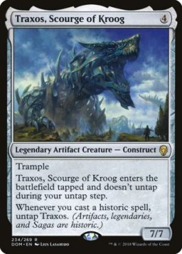 Top 10 Fun Commanders Traxos Scourge of Kroog