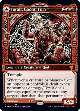Toralf, God of Fury Alternate Art