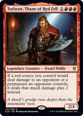 Torbran Thane of Red Fell Brawl Deck Decklist MTGA