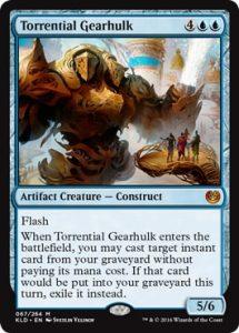 Torrential Gearhulk Kaladesh Remastered