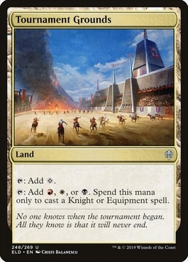 Tournament Grounds Land for Knight Tribal
