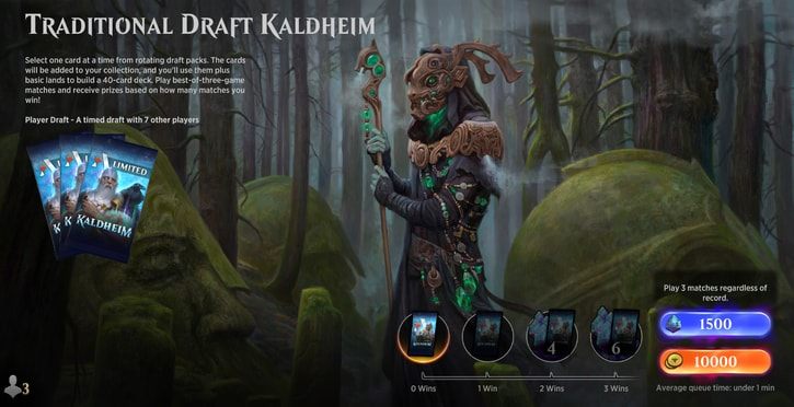 traditional Draft Kaldheim