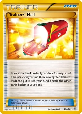 Trainers' Mail Best Item Cards Pokemon TCG