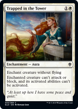 Trapped in the Tower MTGA draft Eldraine