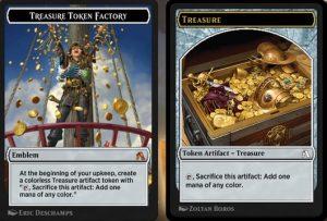 treasure Singelton Emblem token