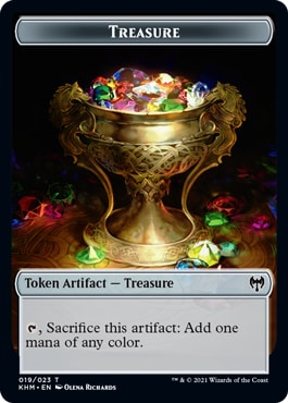 Treasure Kaldheim Tokens