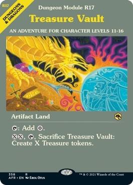 Treasure Vault MTG DND Module Styles