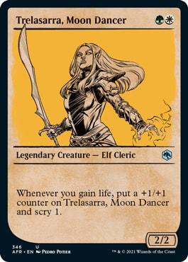 Trelasarra, Moon Dancer Alt Art MTG