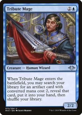Tribute Mage Best MTG Wizards