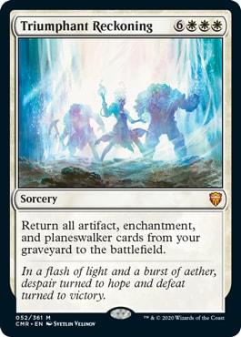 Triumphant Reckoning Commander Legends All Cards