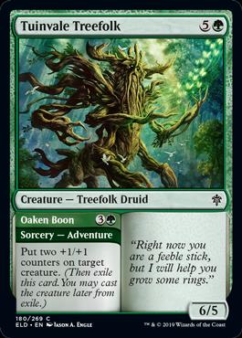 Tuinvale Treefolk Throne of Eldraine Draft Guide