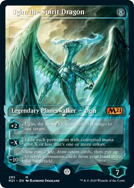 Ugin the Spirit Dragon Collector Booster