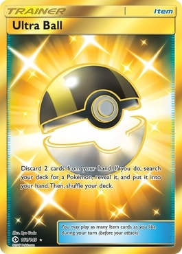 Ultra Ball Best Item Cards Pokemon TCG