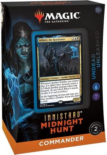 Undead Unleashed Innistrad Midnight Hunt Commander Decks