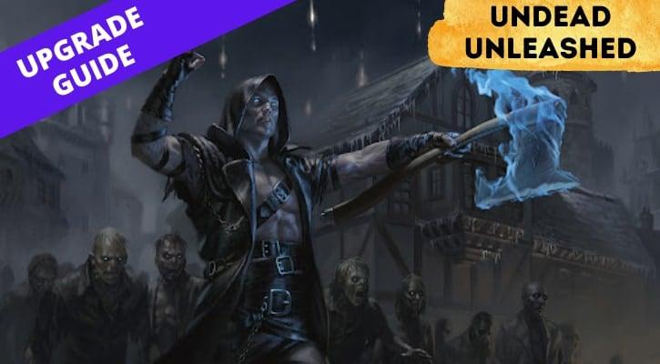 Undead Unleashed Precon Upgrade Banner