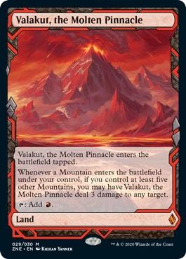 Valakut, the Molten Pinnacle Zendikar Rising Expeditions List