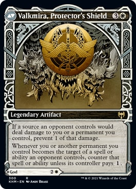 Valkmira Protector's Shield Kaldheim Viking Showcase Cards