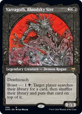 Varragoth, Bloodsky Sire Showcase