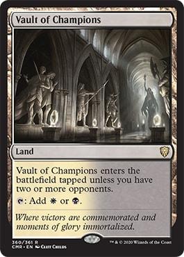 Vault of the Champions Battlebond Crowd Lands Commander Legends Spoilers
