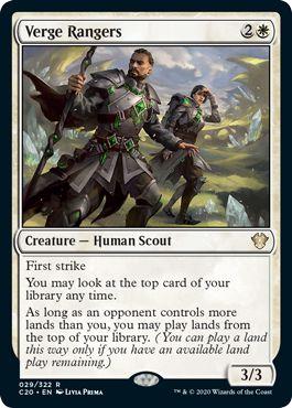 Verge Rangers Top 10 Commander 2020 Cards
