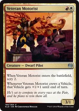 Veteran Motorist Kaladesh Remastered Draft Archetypes