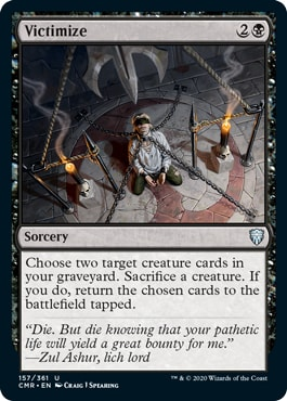 Victimize Commander Legends All Cards