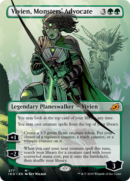 Vivien, Monsters' Advocate Collector Booster