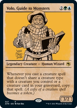 Volo, Guide to Monsters Where to Get DND Rulebook MTG Cards