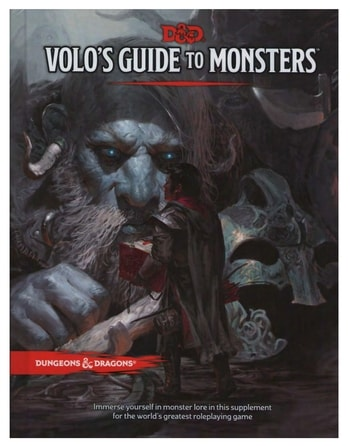 Volo's Guide to Monsters DND Beginners Guide Dungeons and Dragons