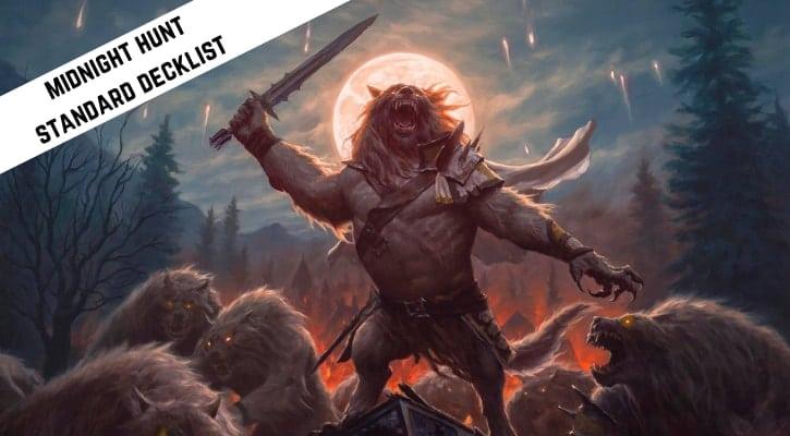 Werewolf Tribal Standard Decklist Midnight Hunt Tolovar Banner