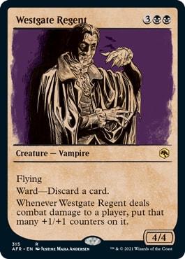 Westgate Regent MTG DND Rulebook Cards
