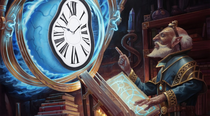 When Does Forgotten Realms Release on Arena Exact Time Banner