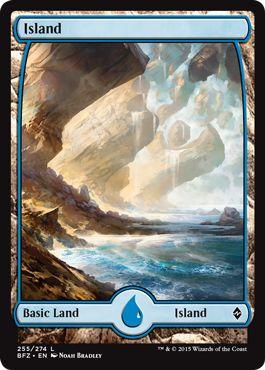 Where to Get Basic Lands Full Art Island MTG