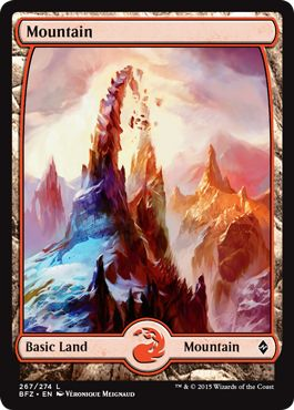 Where to Get Basic Lands Full Art Mountain MTG