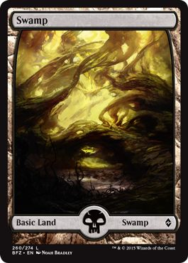 Where to Get Basic Lands Full Art Swamp MTG
