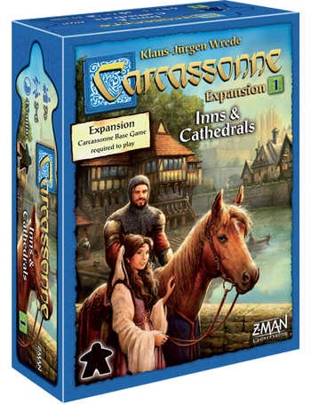 Which Carcassonne Expansion to Buy Inns and Cathedrals