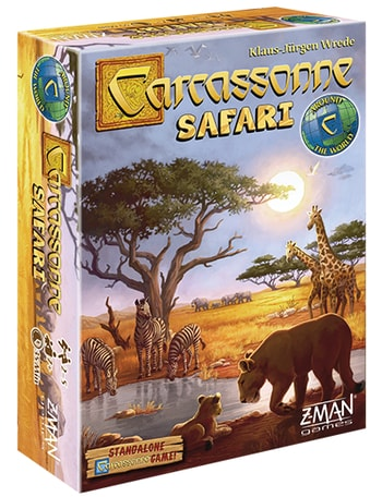 Which Carcassonne Game to Buy Safari