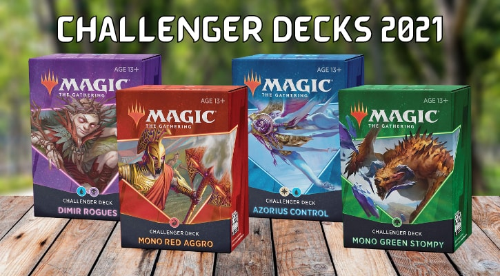 Which Challenger Decks 2021 to Buy Decklist Guide MTG Banner