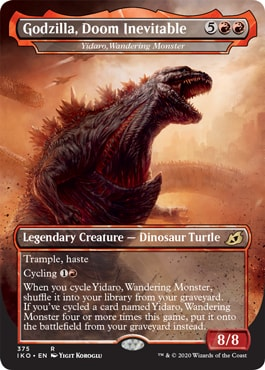 Which Collector Booster Has Godzilla Cards