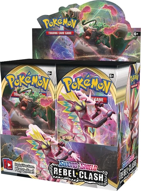 Which Pokemon Booster Box to Buy Rebel Clash